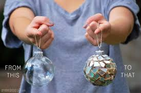 45 DIY Creative And Easy Christmas Tree OrnamentsChristmas Crafts From Recycled Materials