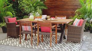 wicker patio furniture canadian tire ideas chairs fresh canvas teak dining table parsons designs office iron