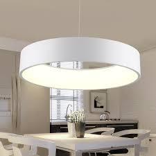 simple dining room lighting. Round Shaped Dining Room Led Ceiling Pendent Lighting Simple Fashion Modern Parlor Lamp For Bedroom X