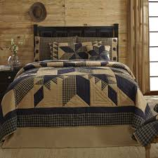 sure to add primitive country charm to any room is the dakota star bedding collection by vhc brands part of the designer line by ashton willow for vhc