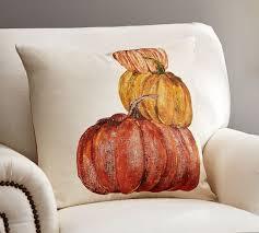 Market Pumpkins Pillow Cover
