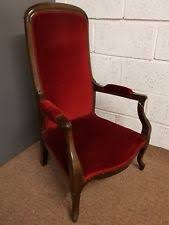 antique mahogany bedroom chairs. beautiful antique victorian mahogany bedroom / nursing chair with deep red cover chairs a