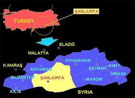 Image result for malatya şanlıurfa haritası