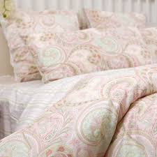 gallery for pink and green paisley twin bedding