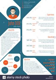 Cool New Modern Cv Resume Curriculum Vitae Template With Photo And