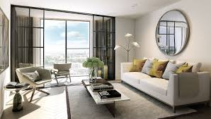 One Bedroom Apartment Living Room Interior Gallery One Nine Elms