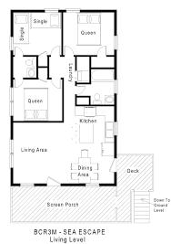 beach house floor plans. Minimalist Plan Beach Cottage Floor Plans Full Size House 0