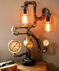 steampunk lighting. Steampunk Table Lamp Design. Full-Size Image Lighting N