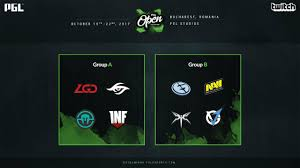 groups of pgl open bucharest 2017 became known dota 2 news