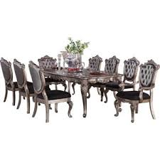east west furniture dining set best of 9 piece dining sets you ll love