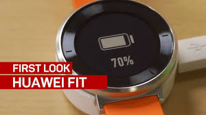 huawei fitness watch. the huawei fit can track your fitness and build you a training plan watch