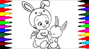 Baby Twozies Rabbit Coloring Book Pages L Kids Drawing And Coloring