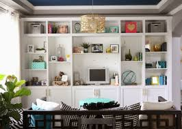 Living Room Built In Cabinets Short Bookcases Built Ins How To Build Diy Built In Bookcases