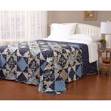 Quilt & Bedspread Sale | Twin, Queen & King Size | Boscov's & 554603 Blue Floral Patchwork Quilted Bedspread Adamdwight.com