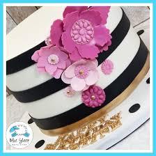 Kate Spade Inspired 30th Birthday Cake Blue Sheep Bake Shop
