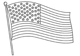 Dessins Et Coloriages 5 Coloriages Du Drapeau Des Etats Unis En