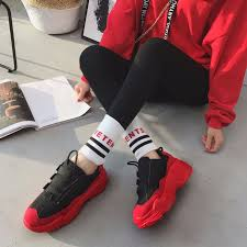 Chunky Designer Shoes High Platform Casual Chunky Sneakers