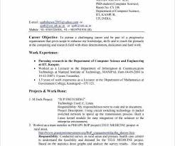 Best Simple Resume Format Stunning Simple Resume Format For Freshers Best Of Sample Resume For