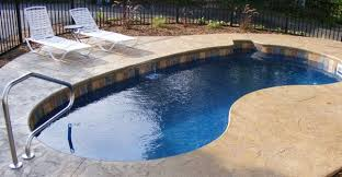 12x24 kidney shaped fiberglass pool