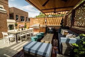 roof deck furniture. A Roof Deck In Chicago Designed By The Based Design-build Firm. Urban Furniture S