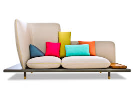 colorful furniture. Furniture Marvellous Long Colorful Fabric Sofa With Sofas Leather And