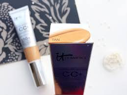 review it cosmetics cc cream tan um indian skin nc40 swatch