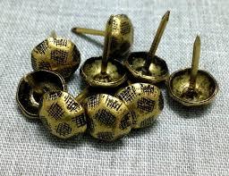 furniture tacks. 100 pcs 10mmx18mm bronze color push pins,upholstery tacks/nails,sofa nail, furniture tacks h
