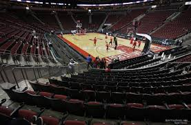 Key Arena Detailed Seating Chart Keyarena Section 104 Basketball Seating Rateyourseats Com