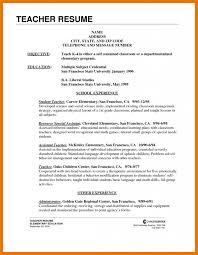 Resume Preschool Teacher Objective Examples Reading English Cv