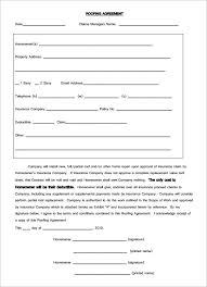 Roofing Contract Template 100 Roofing Contract Templates Free PDF Format Download Free 2