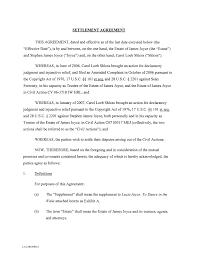 Settlement Agreement settlement agreement format Ninjaturtletechrepairsco 1