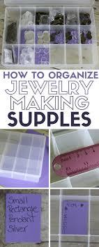 organize your jewelry making supplies organization storage beads beading diy