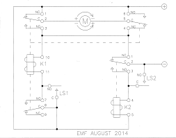 ac motor direction control ~ wiring diagram components Contactor Relay Wiring Diagram Pdf relay limit switches to control motor direction electrical enter image description here motor control circuit Single Phase Contactor Wiring Diagram