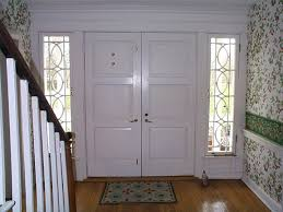 white interior front door. Amazing Front Porch Decoration Design Ideas With Double Door : Awesome White Interior I