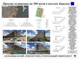 Проект гостиницы на мест в посёлке Баилово az Скачать в большем размере