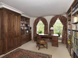 home office study. Large Study Home Office Was In American Black Walnut For Central London