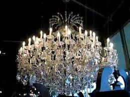 maria theresa crystal chandelier dressed with swarovski spectra