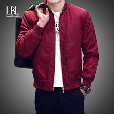 <b>2019</b> Baseball Jacket <b>Men Spring Autumn Casual</b> Solid Fashion ...