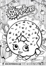 Small Picture Shopkins Coloring Pages Season 1 Kooky Cookie Party Shopkins