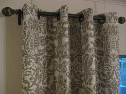 Diy No Sew Curtains Frugal Home Ideas Easy No Sew Curtains