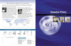 Quadro Co Mill Screen Size Chart Quadro Ytron Brochure