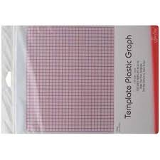 Grid marked template plastic for patchwork templates and quilting ... & Template plastic - grid Adamdwight.com