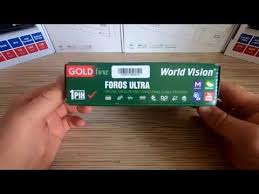 Распаковка <b>World Vision</b> Foros Ultra - YouTube