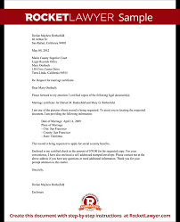 Letter Of Request For Documents Copy Sample Professional Letter