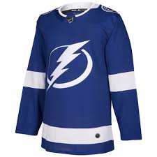 Tampa Bay Lightning Adidas Adizero Authentic Nhl Hockey Jersey