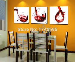 big 3pcs modern home decor red wine glass wall art picture dining room bar coffee house on wine and dine canvas wall art with big 3pcs modern home decor red wine glass wall art picture dining