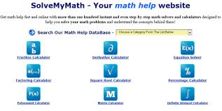 math problem solver list for techhowdy solvemymath is online tool widely used by internet users this website include lot of online problem solvers in mathematical issues