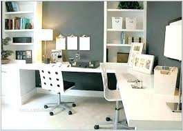 home office with two desks. Beautiful Home Ikea Home Office Ideas For Two Desk 2 Person Desks Interior   Inside Home Office With Two Desks