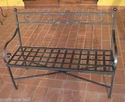 Sedie In Ferro Battuto Ebay : Panca panchetta acciaio inox ferro battuto realizzazioni