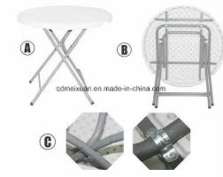 plastic folding table high outdoor picnic table green bar table stand with a small round table m x3779